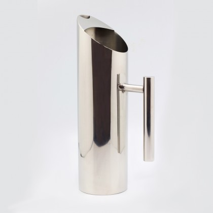 High Quality Aqua Sleek Stainless Steel Water Pitcher Or Jug With Ice Guard & Handle 1.5L